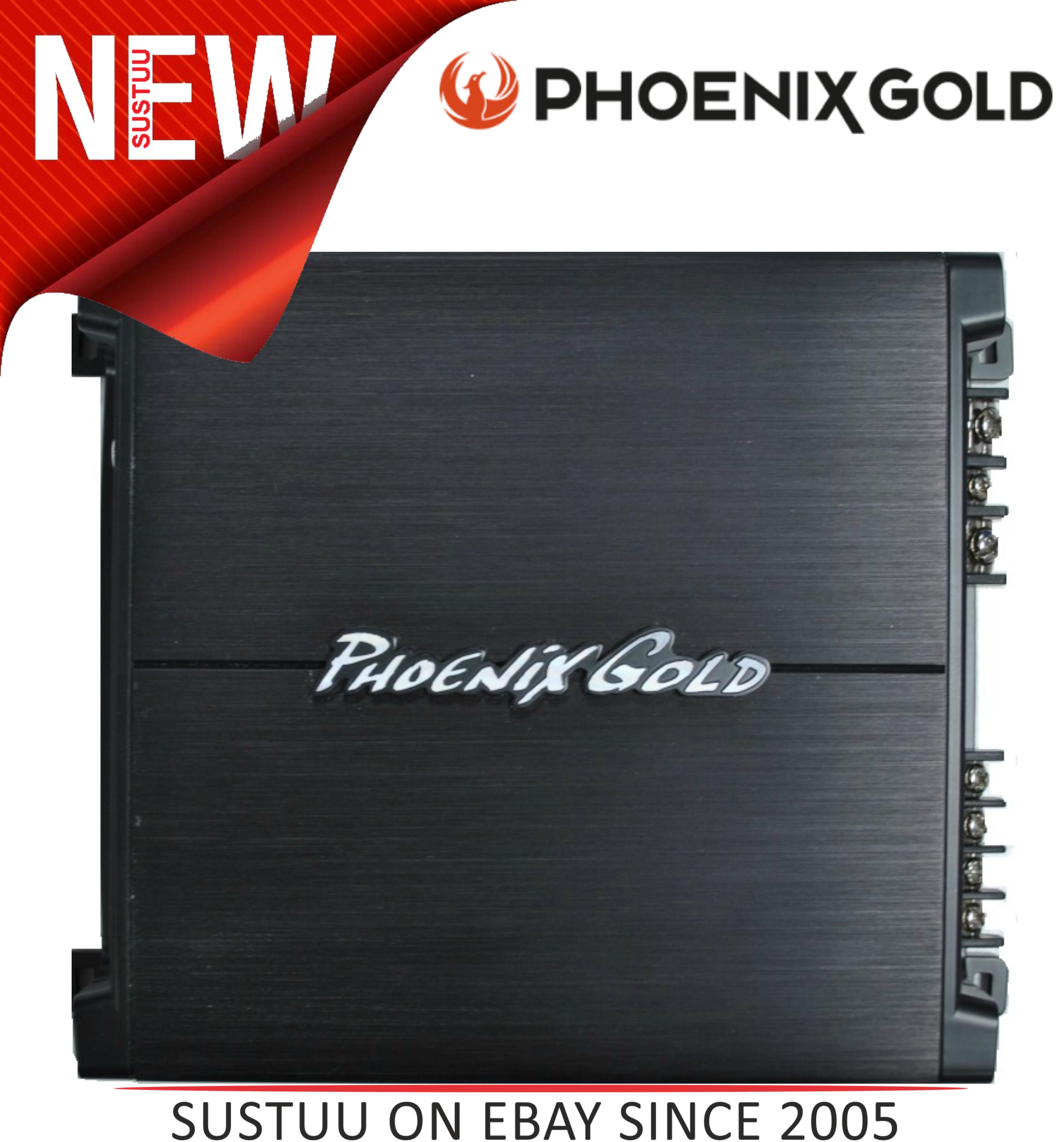 Phoenixgold Z1502 600 Watt Hi/Low Level Remote Bass Control 2 Channel Amplifier