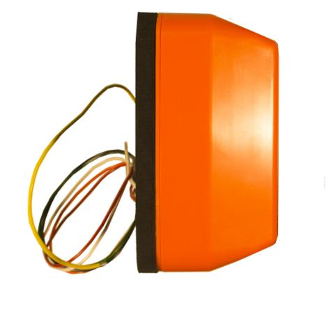 AMBER VALLEY Alarm Light Vehicle Side Minder WARNING With Orange LED 1yrWARRANTY Thumbnail 3