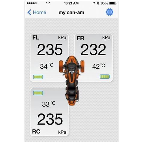 Nextbase Fobo Bike Motorcycle Tyre Pressure Monitoring