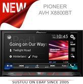 "Pioneer AVH-X8800BT 7"" Touch Screen Car Bluetooth DVD AndroidAuto AppleCar Play"