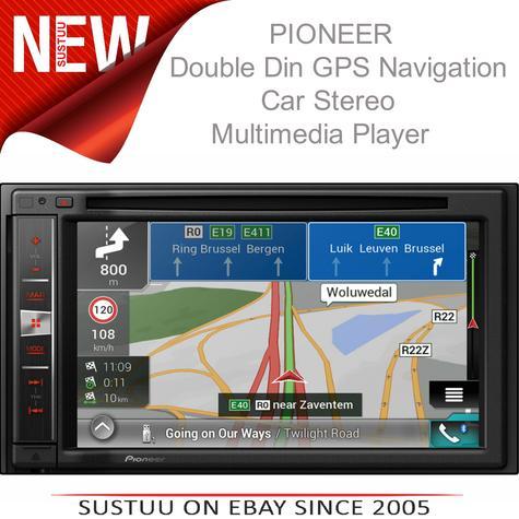 "Pioneer AVIC-F980BT|6.2"" 2-Din Bluetooth|CD|Apple CarPlay|GPS Navigation|Stereo Thumbnail 1"