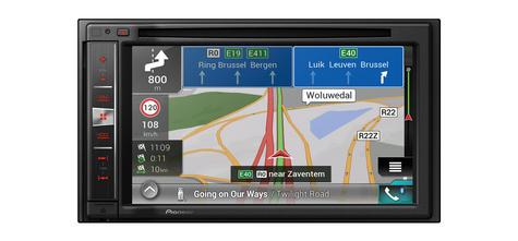 "Pioneer AVIC-F980BT|6.2"" 2-Din Bluetooth|CD|Apple CarPlay|GPS Navigation|Stereo Thumbnail 2"