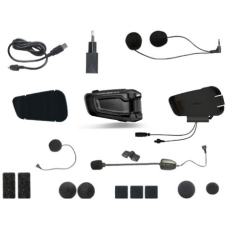 NEW Cardo Scala Rider Smartpack Solo BTSRP Motorcycle Helmet Bluetooth Intercom  Thumbnail 6