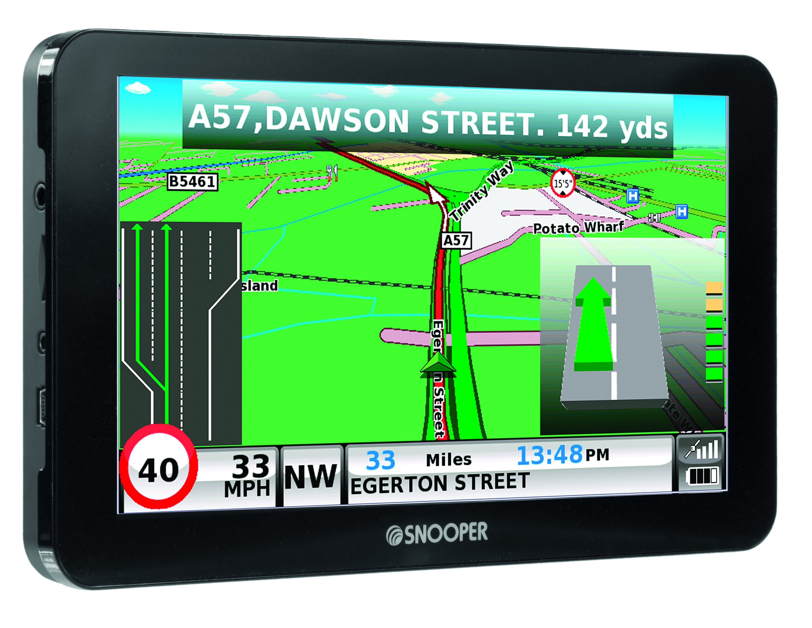 NEW Snooper Truckmate PRO S GPS TruckHGV Sat Nav European - Gps mapping system