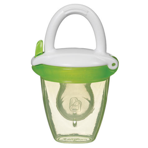 Munchkin Safe Easy On The Go Baby Food Silicone PureeTravel Feeder With Cap +4m Thumbnail 7