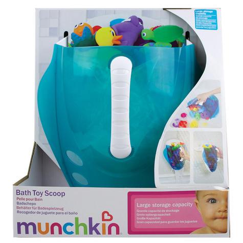 Munchkin Kids Bath Toy Drain+Storage Scoop | Wall Mount/Hanging Bathtime Organiser Thumbnail 7