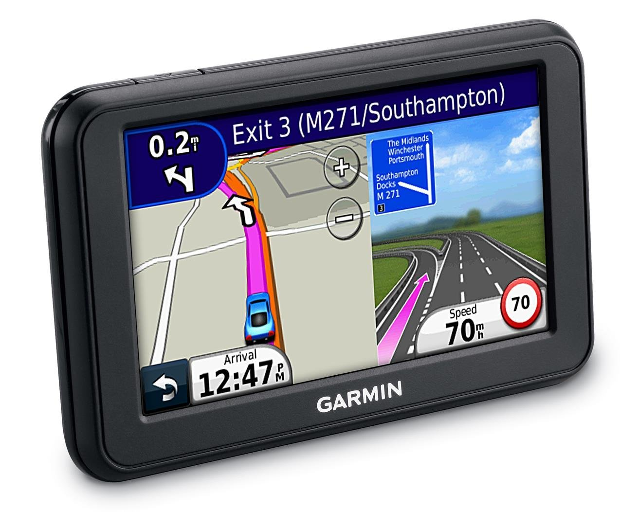garmin nuvi 50 gps satnav 5 uk western europe maps lane assist speed cams sustuu. Black Bedroom Furniture Sets. Home Design Ideas
