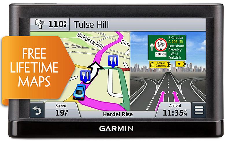 Garmin Nuvi 52lm Gps Satnav 5\ Display Lifetime Uk Western: Gps With Europe Maps Loaded At Slyspyder.com
