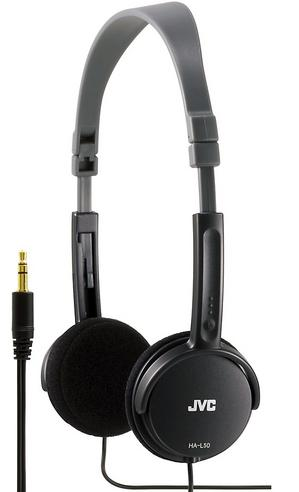 JVC HA-L50 Foldable Light Weight Stereo Headphone|Smartphone|Tablet|PC|Black| Thumbnail 6