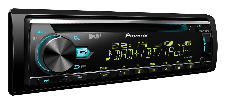 Pioneer DEH X7800DAB Car Stereo|DAB Radio|Bluetooth|USB|Aux|iPod-iPhone-Android
