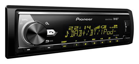 Pioneer MVH X580DAB Car Stereo|DAB+|AM/FM|Bluetooth|USB|Aux|*iPod-iPhone-Android Thumbnail 3