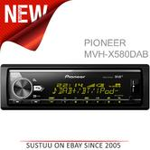 Pioneer MVH X580DAB Car Stereo|DAB+|AM/FM|Bluetooth|USB|Aux|*iPod-iPhone-Android