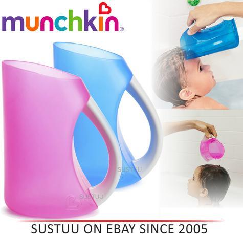 Munchkin Shampoo Hair Rinser Baby Soft Flexi Rim Tear-free Bath Time Toddler Jug Thumbnail 1