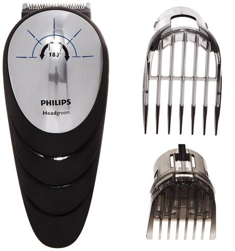 Philips Headgoorm Mens Shaver | 180° Rotation Head Hair Clipper | Easy Reach Cutting Thumbnail 6