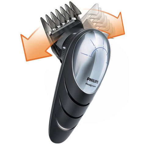 Philips Headgoorm Mens Shaver | 180° Rotation Head Hair Clipper | Easy Reach Cutting Thumbnail 3