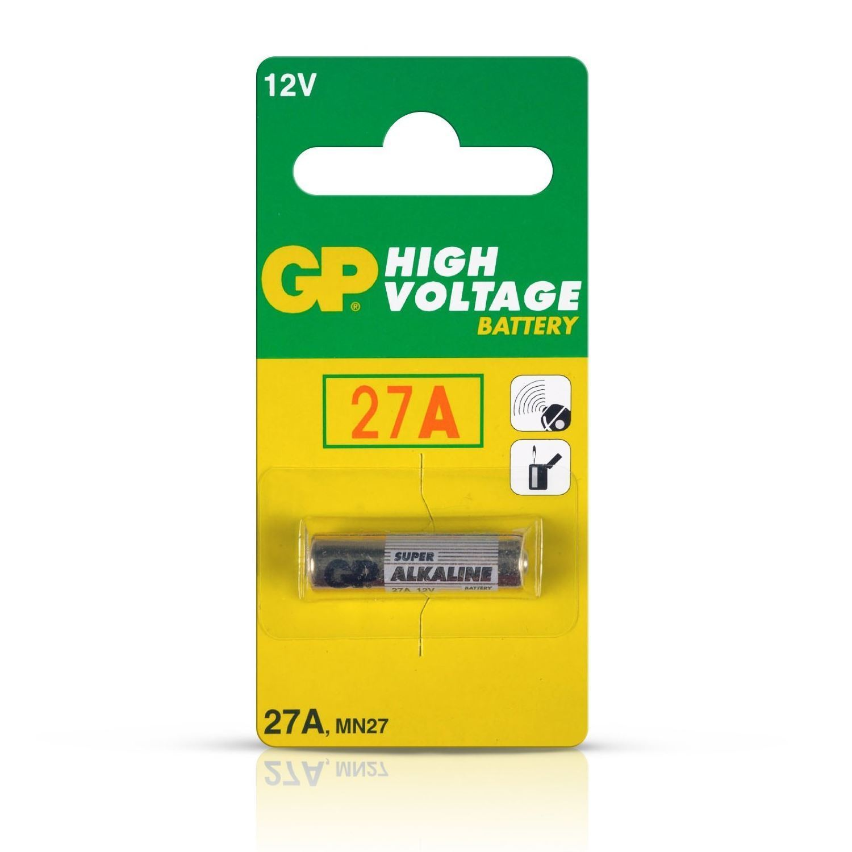Value Range GP27A 12V Alkaline High Power Battery 27A