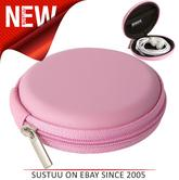 Groov-e GVEC1PK Zip Up EVA Carry Case for Earphones Cables Memory Cards - Pink