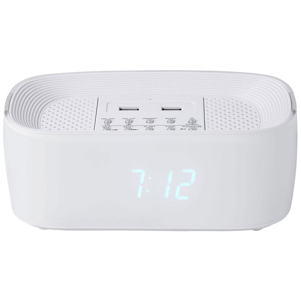groov e bluetooth lautsprecher mit alarm uhr radio usb. Black Bedroom Furniture Sets. Home Design Ideas