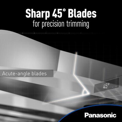 Panasonic ERGB40S?Wet/Dry?Washable?Men's Hair Beared Cordless Clipper Trimmer? Thumbnail 6