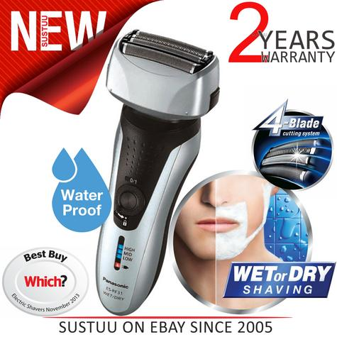 Panasonic ESRF31S 4 Blade Wet/Dry Men's Shaver Trimmer?Rechargeable?Washable?NEW Thumbnail 1
