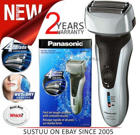 Panasonic ESRF31S 4 Blade Wet/Dry Men's Shaver Trimmer?Rechargeable?Washable?NEW Thumbnail 1