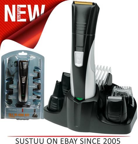 Remington PG350 Rechargeable Nose Nasal Hair Ear Trimmer Shaver Grooming Kit NEW Thumbnail 1