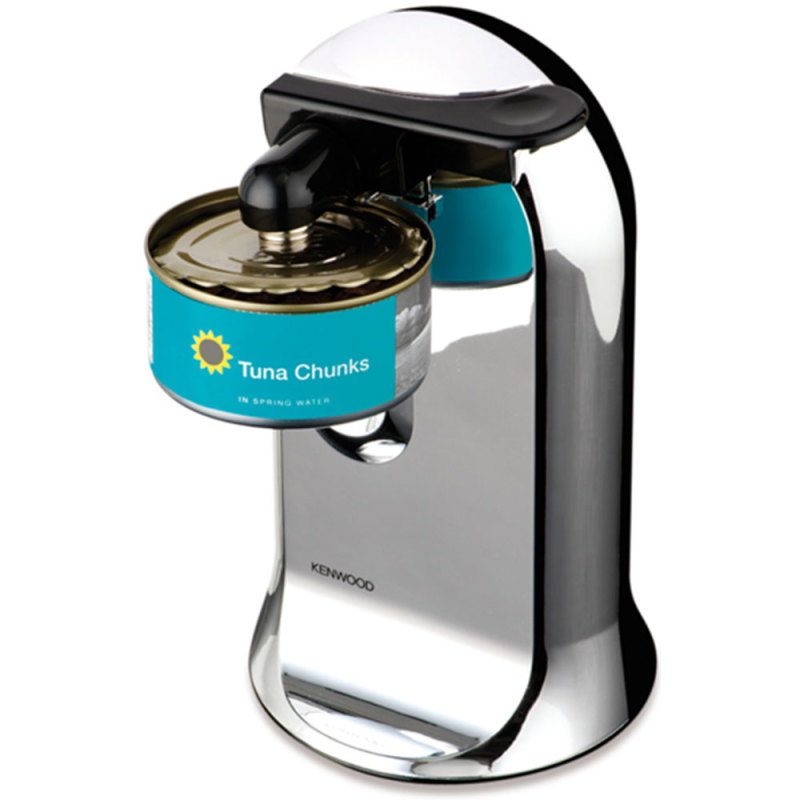 kenwood co606 chrome electric 3 in 1 40w automatic can opener rubber handle grip