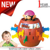 Tomy Pop Up Pirate Kids Game   Classic Children's Fun Game   For 2-4 Players   4+ Age