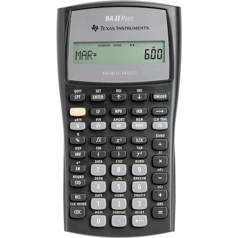 Texas Instruments BAII PLUS Advanced Financial Calculator IIBAPLTBL3E2 NEW Thumbnail 2
