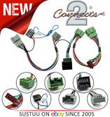 NEW C2 10VX09 Bluetooth Parrot SOT Lead T-Harness ISO Adaptor For Vauxhall/Viva