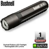 Bushnell Rechargeable Rubicon LED Flashlight 250 Lumen Torch 060-10R250ML