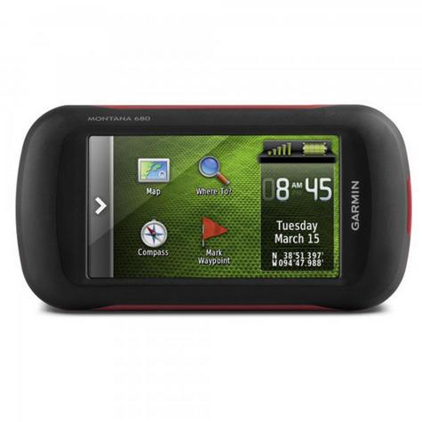 Garmin Montana 680|Handheld GPS Navigator|8MP Camera|Barometer|Altimeter|Compass Thumbnail 4