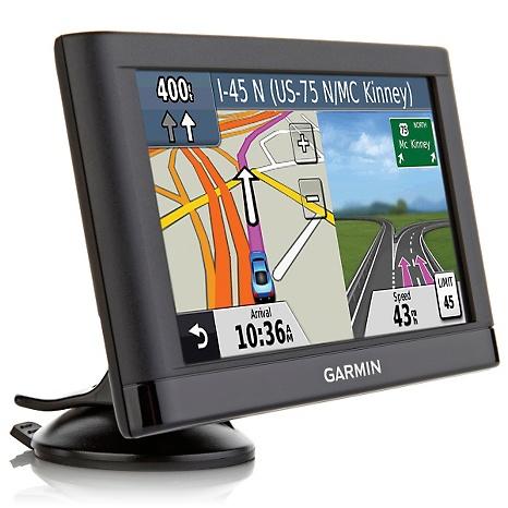 Garmin Nuvi LM GPS SATNAV With FREE LIFETIME UK Western Europe - Gps with us and europe maps