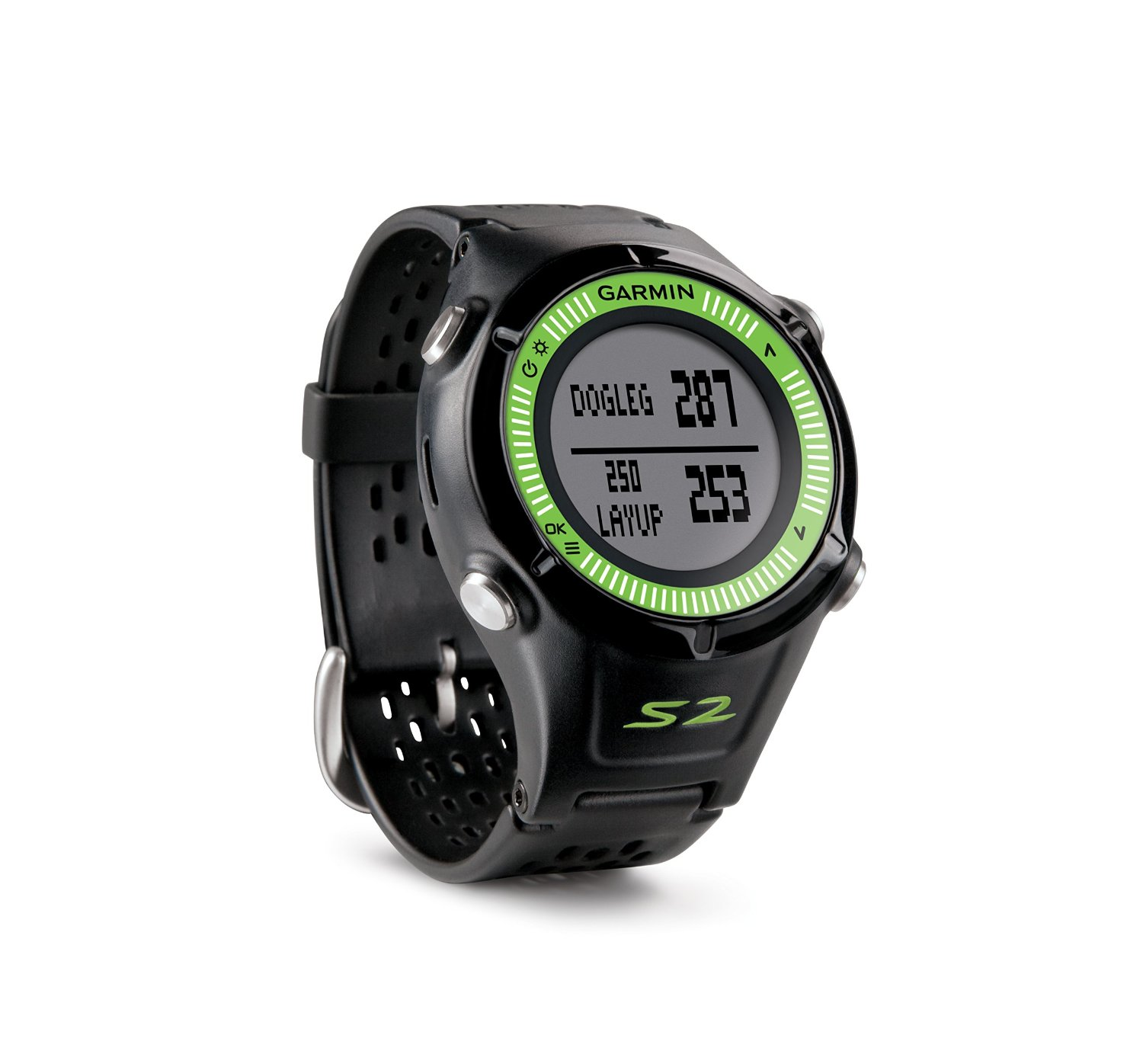 Garmin s1 approach golf gps rangefinder watch black 7400 preloaded golf courses sustuu for Watches garmin