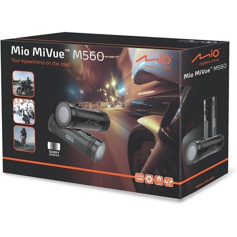 Mio MiVue M560?Waterproof DASHCAM?Accident Camera?Motorcycle/ Scooter/ Bicycle Thumbnail 7