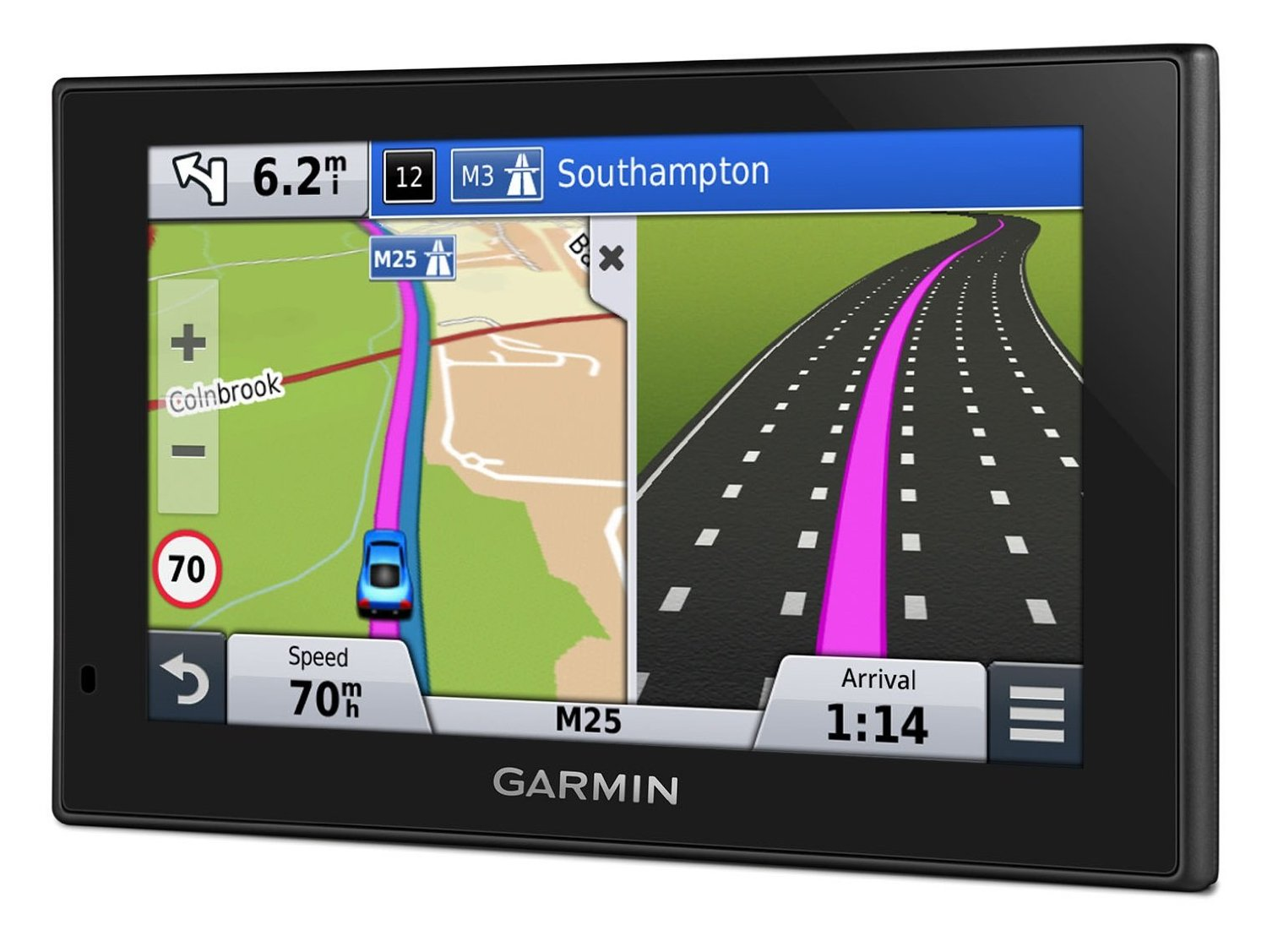 garmin nuvi 2559lm 5 lcd gps satnav free lifetime western europe map updates 753759159825 ebay. Black Bedroom Furniture Sets. Home Design Ideas