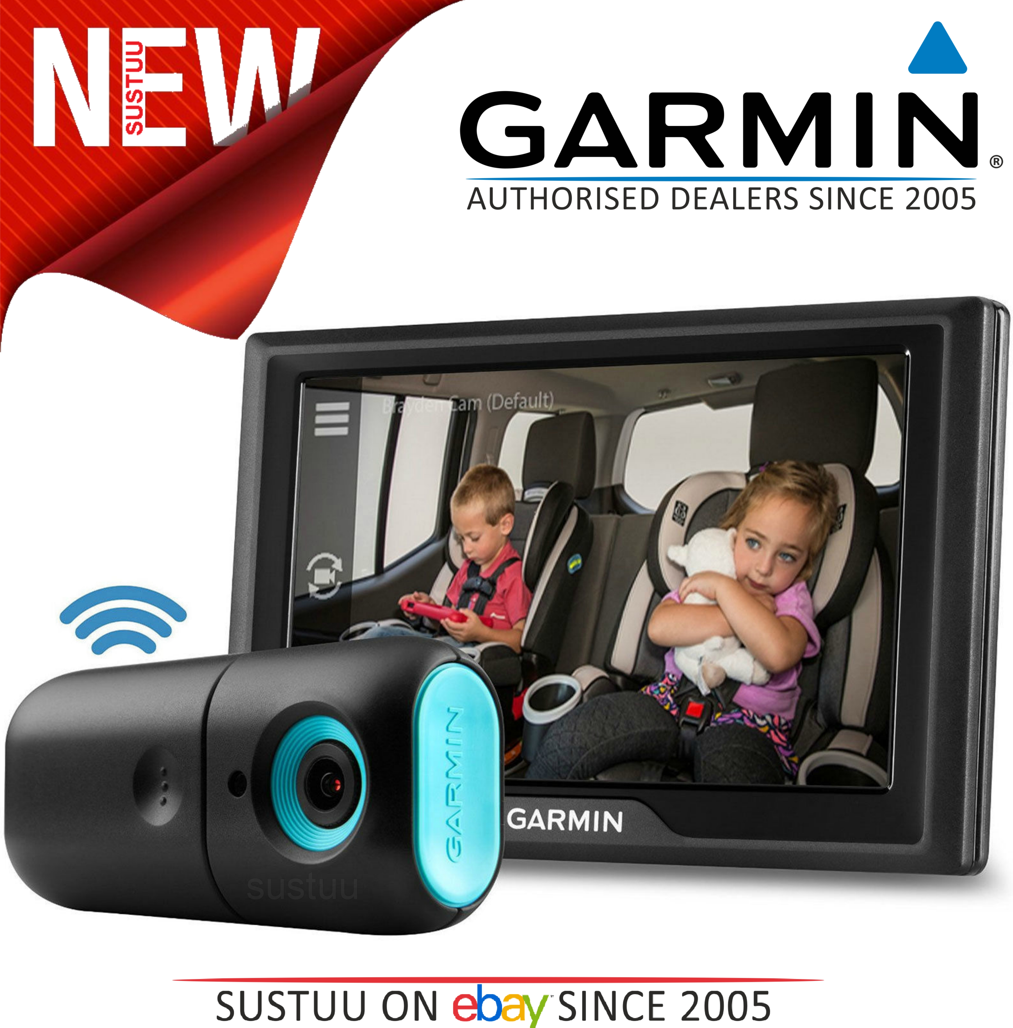 Garmin Baby Cam In Car Wireless Baby Child Monitor Night Vision