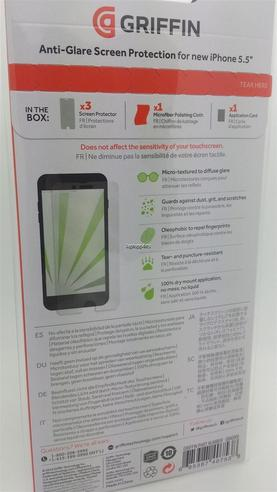 Griffin GB40068 Front Anti-glare Flim Screen Care Protector For iPhone 6 Plus Thumbnail 7