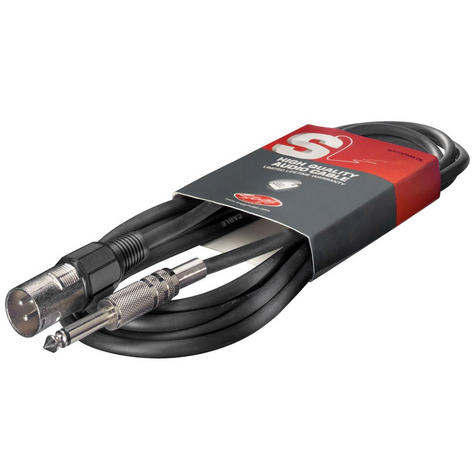 Stagg 6mm to XLR Cable - 6m Thumbnail 1