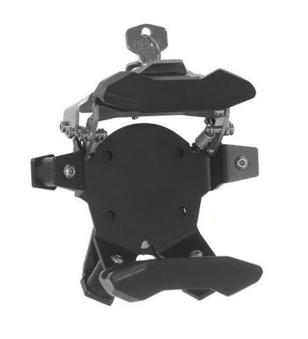 Touratech High Quality lockable mount | For TomTom RIDER 410/400/40 -Black | NEW Thumbnail 2