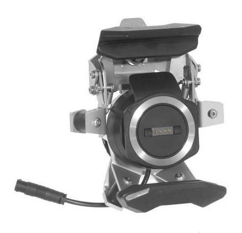 Touratech High Quality lockable mount | For TomTom RIDER 410/400/40 -Black | NEW Thumbnail 1