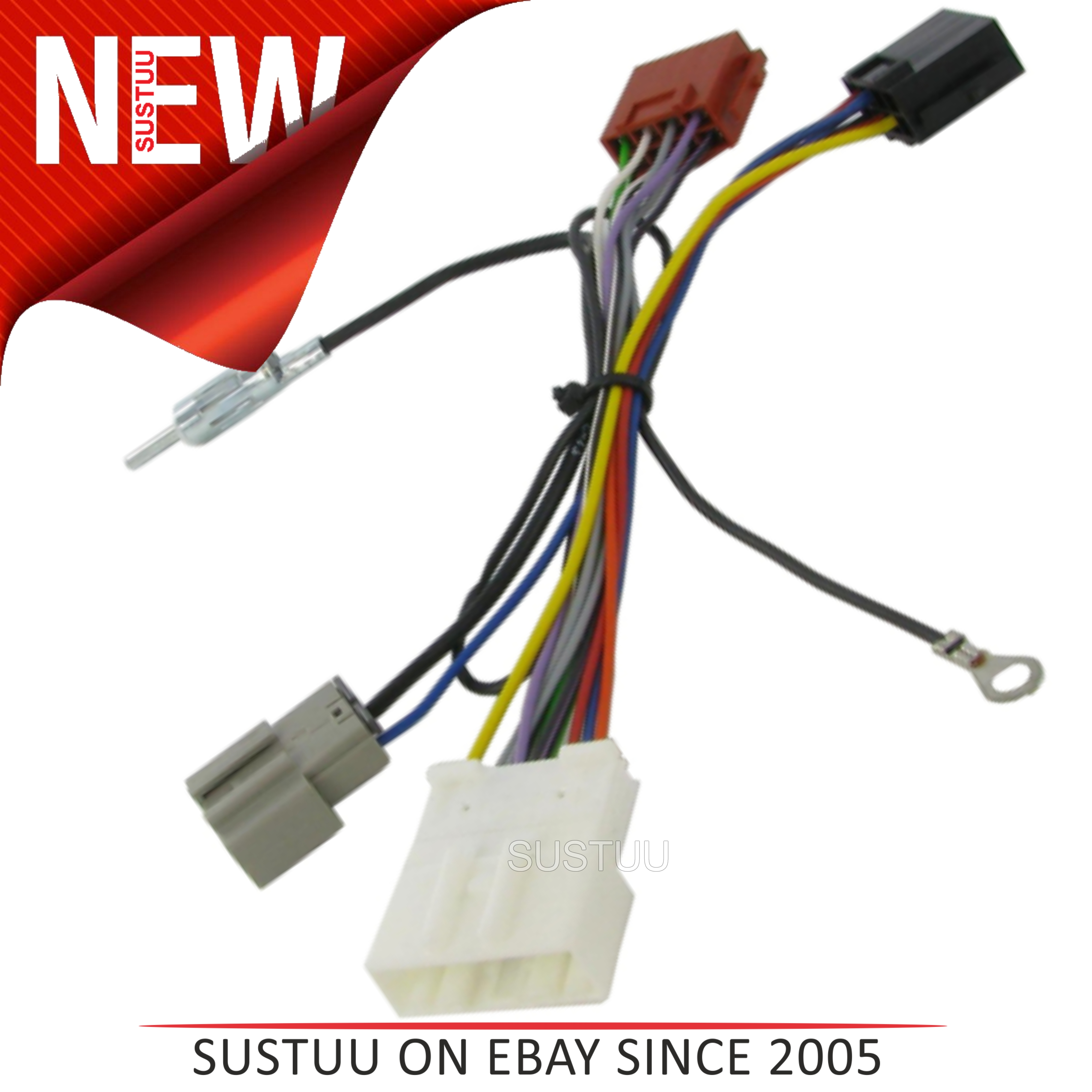 C2 20NS06 Car Stereo ISO Wiring Fakra Harness Adaptor NISSAN ... on