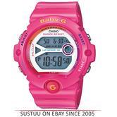 Casio BG6903-4BER Ladies Baby-G Digital Watch / Sports Resin Strap / Pink / Alarm / New