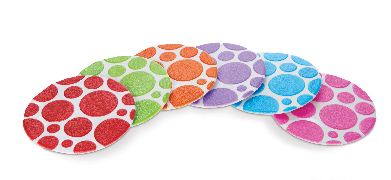 Munchkin Grippy Dots Temperature Heat Sensitive Non Slip Child Safety Bath Mat