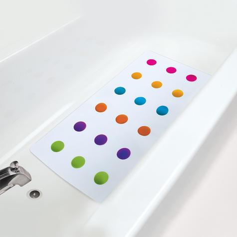 Munchkin Children Bathtime Safety Non-Slip Dandy Dots Toddler Bath Colourful Mat Thumbnail 3
