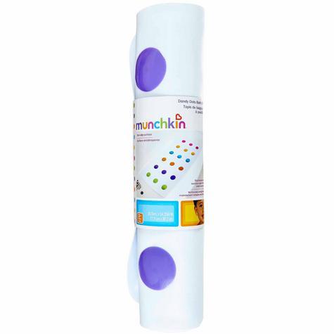 Munchkin Children Bathtime Safety Non-Slip Dandy Dots Toddler Bath Colourful Mat Thumbnail 2