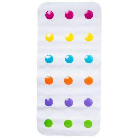 Munchkin Children Bathtime Safety Non-Slip Dandy Dots Toddler Bath Colourful Mat Thumbnail 1