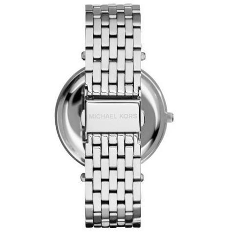 Michael Kors Darci Pave Salmon Pink & Silver Tone Ladies Designer Watch MK3352 Thumbnail 4
