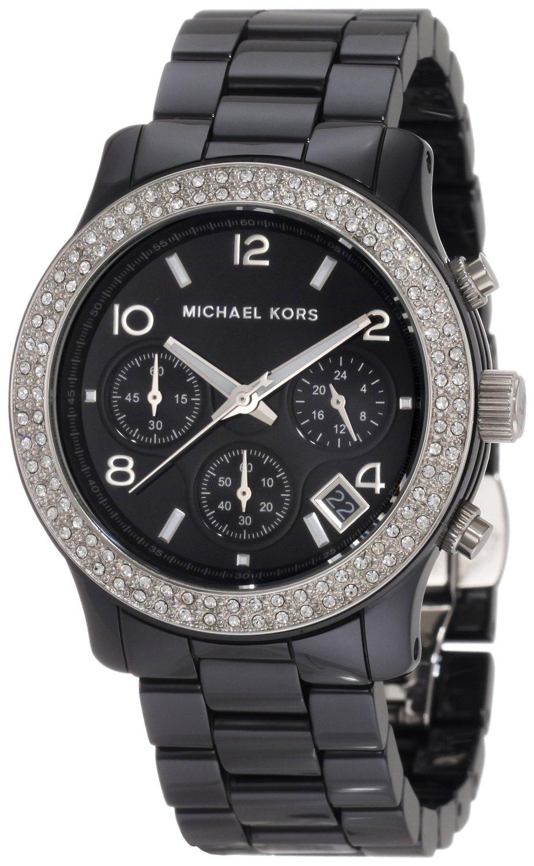 Michael Kors Ladies Black Ceramic Bracelet Runway
