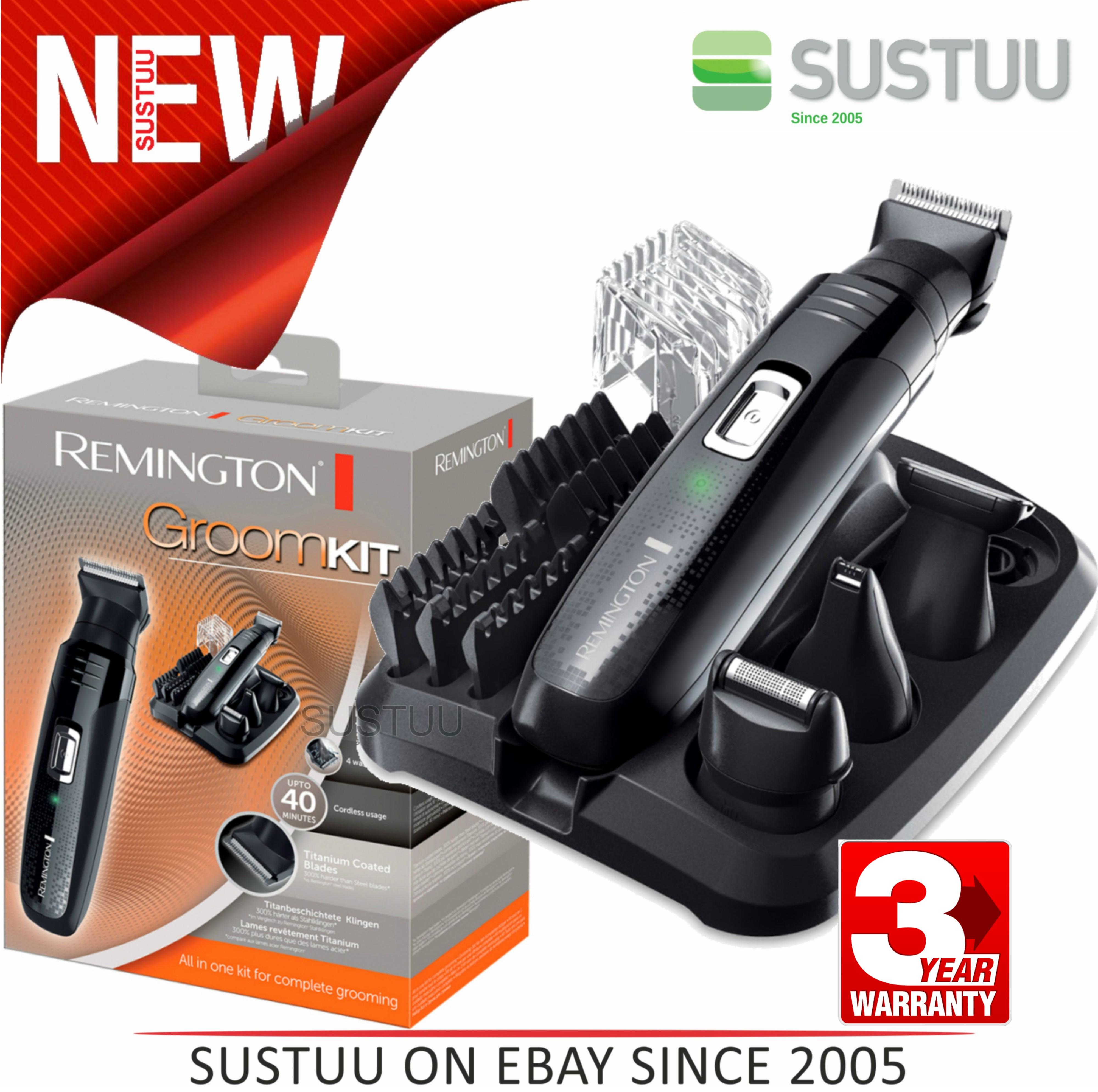 Remington PG6130|Men's Hair|4 in 1|Cordless|Shaving|Trimmer|Clipper|Grooming Kit
